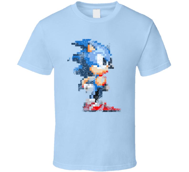 Retro Sonic Sega T shirt