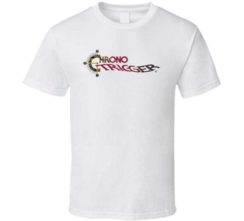 Chrono Trigger Logo T Shirt