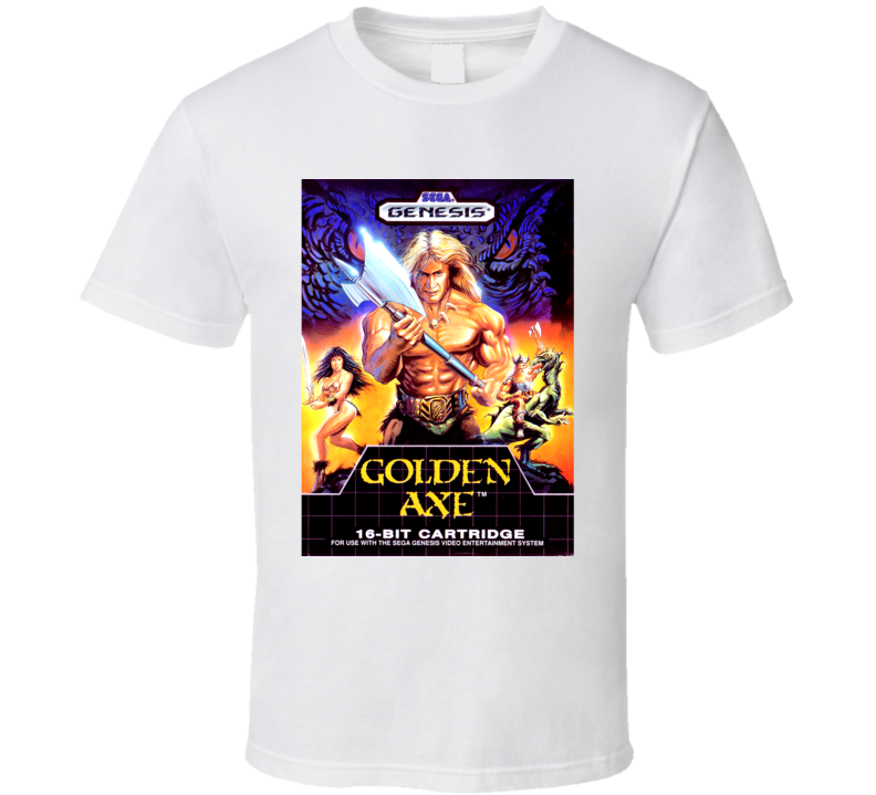 Golden Axe SEGA Genesis Game Cover T Shirt