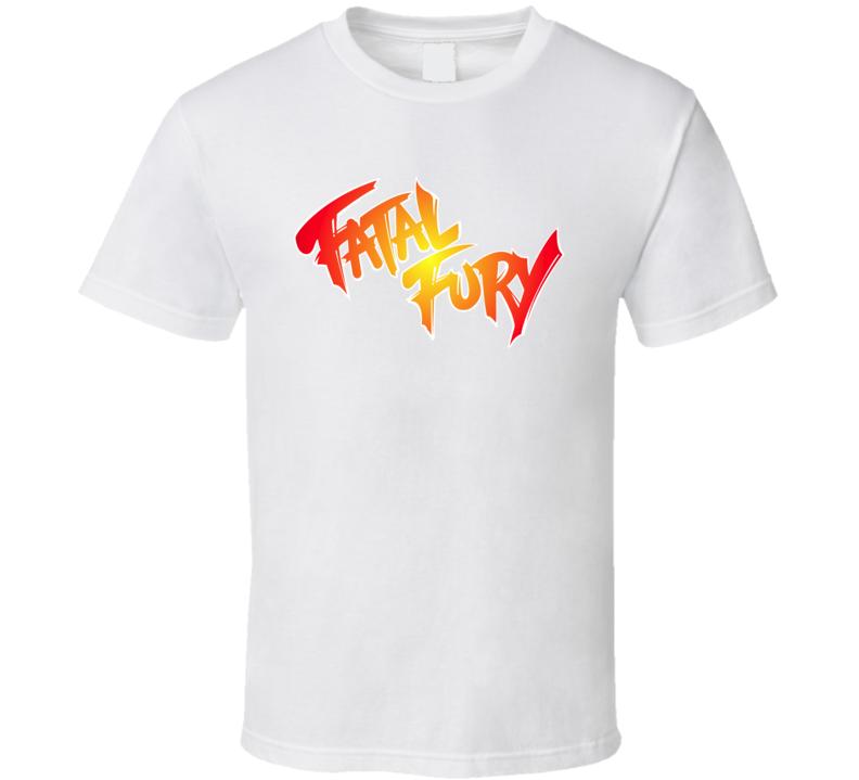 Fatal Fury Logo T Shirt