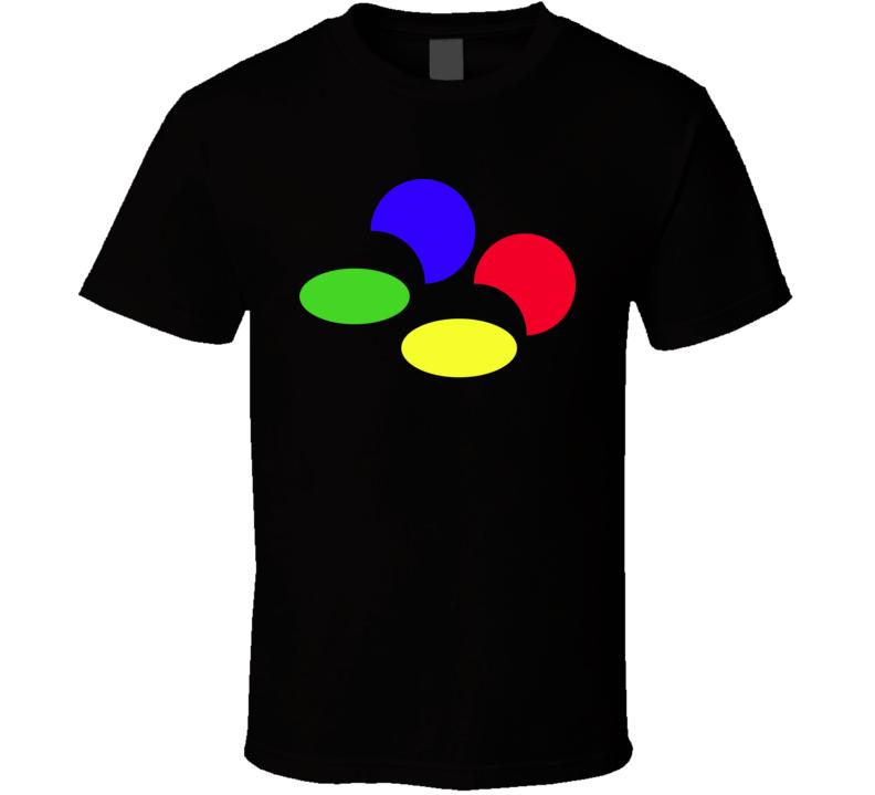 Super Famicom Logo T Shirt