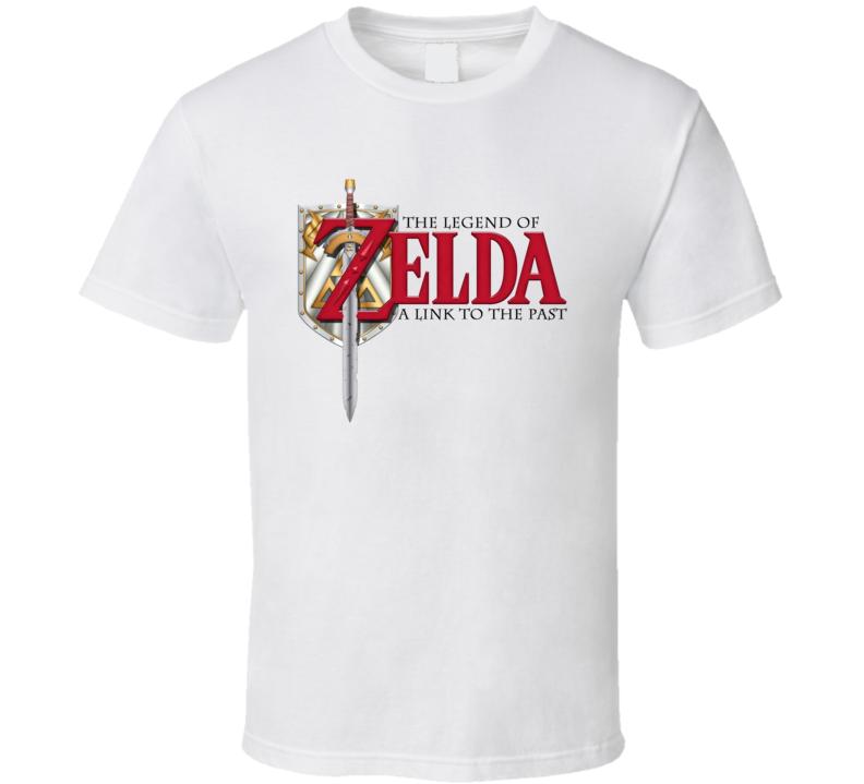 Zelda A Link to Past Logo T Shirt