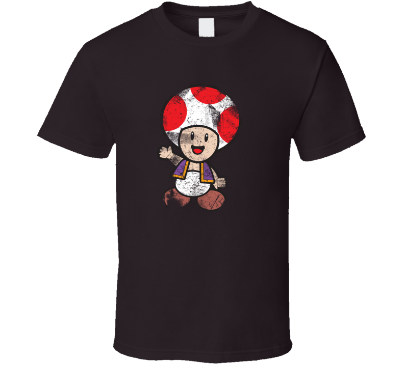 Captain Toad Grunge Style T Shirt