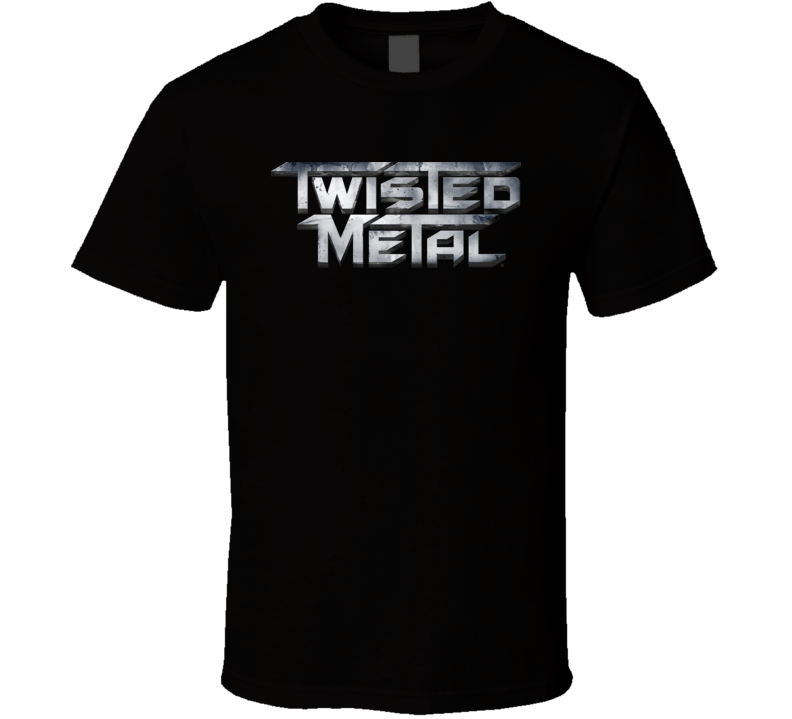Twisted Metal Logo PSX T Shirt