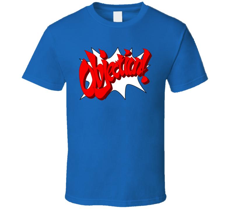 Phoenix Wright Objection T Shirt