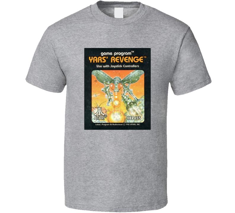 Yars' Revenge Game Cover Atari 2600 T Shirt
