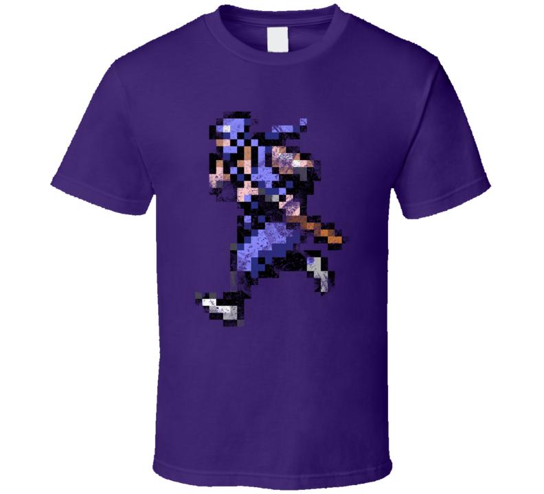 Ninja Gaiden Grunge Nintendo T Shirt