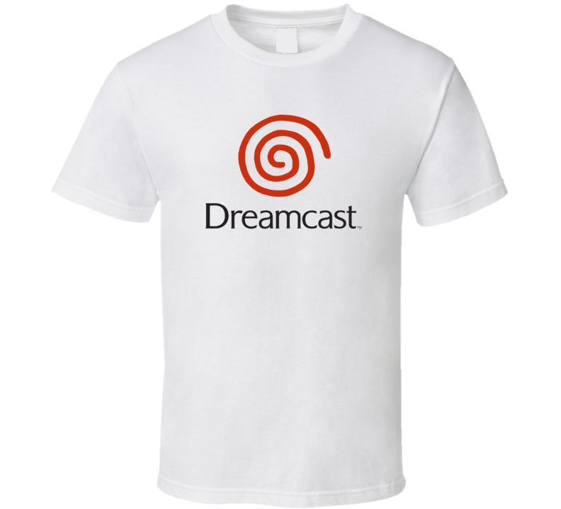 Dreamcast Dark Logo T Shirt