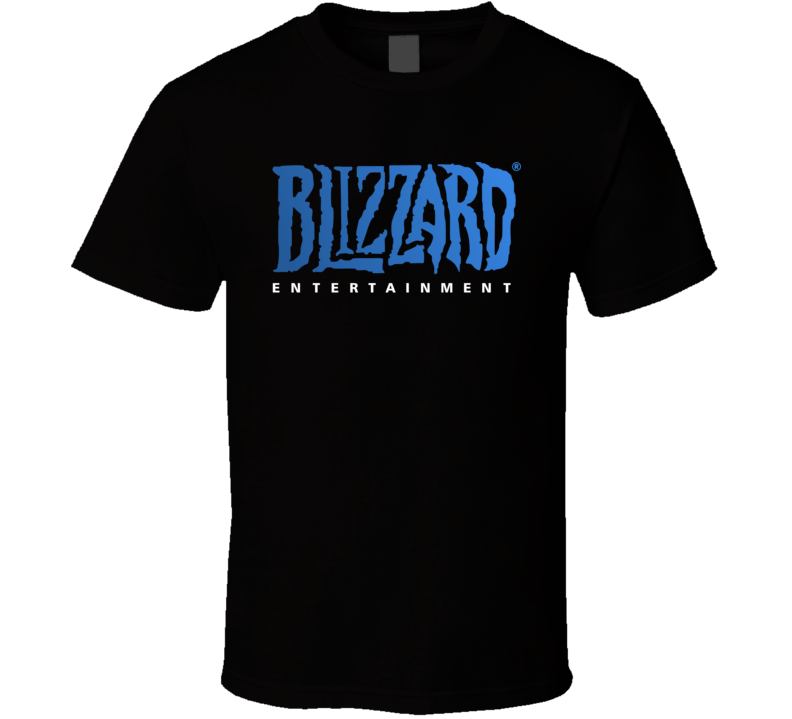 Blizzard Entertainment Logo T Shirt