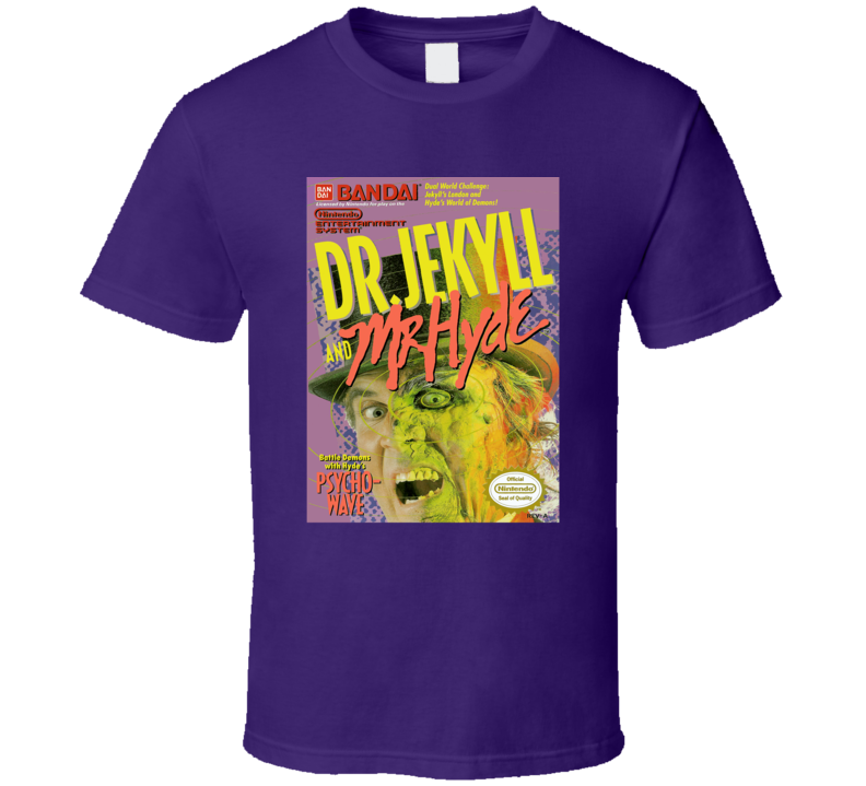 Dr. Jekyll and Mr Hyde NES Cover T Shirt