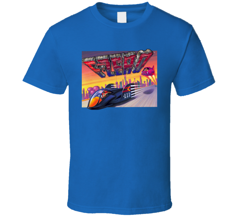 F-Zero Cover Art SNES T Shirt