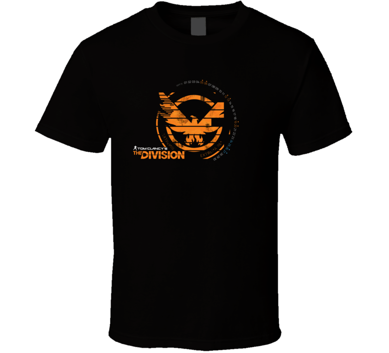 Tom Clancy's The Division Eagle Logo T Shirt