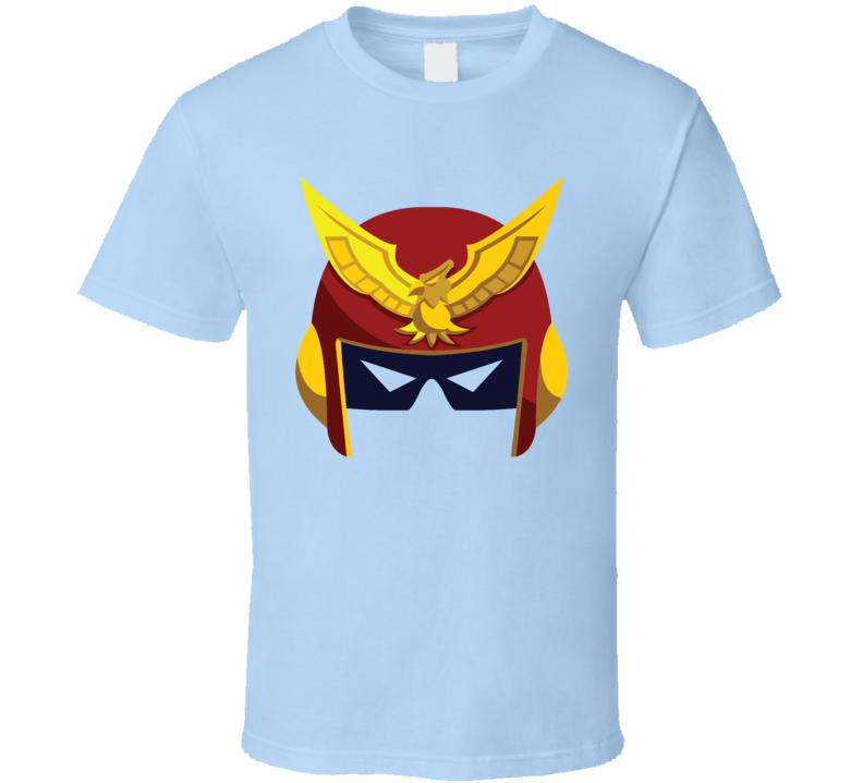Captain Falcon Helmet T Shirt
