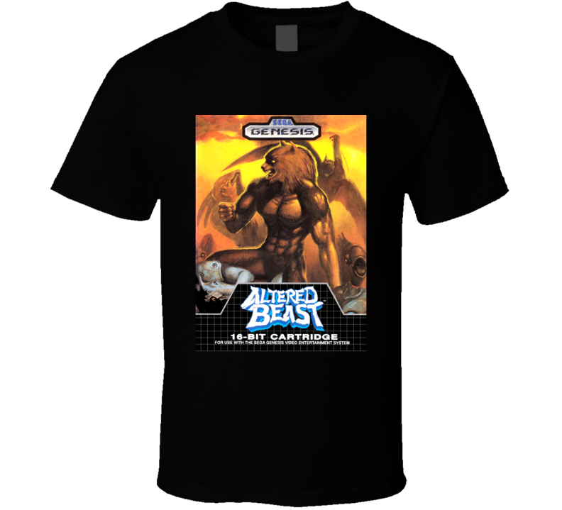 Altered Beast SEGA Genesis Game Cover T Shirt