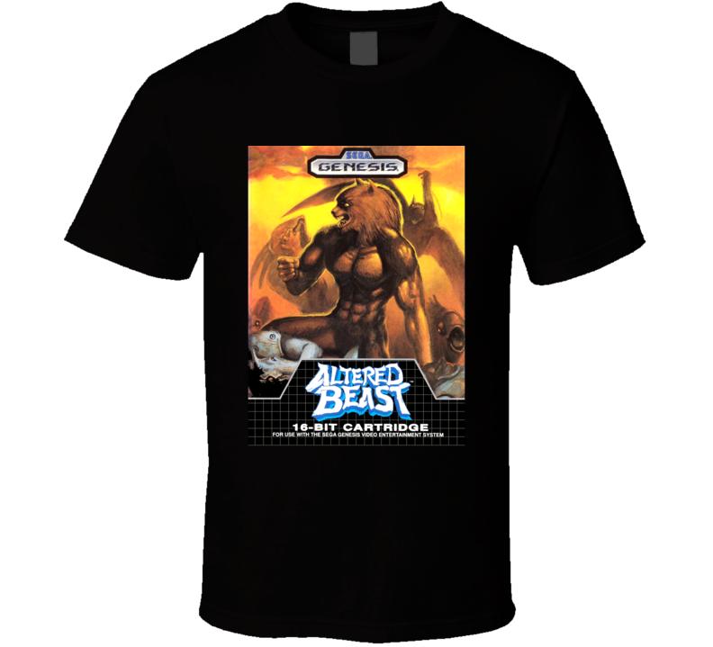 Altered Beast SEGA Genesis Game Cover T Shirt
