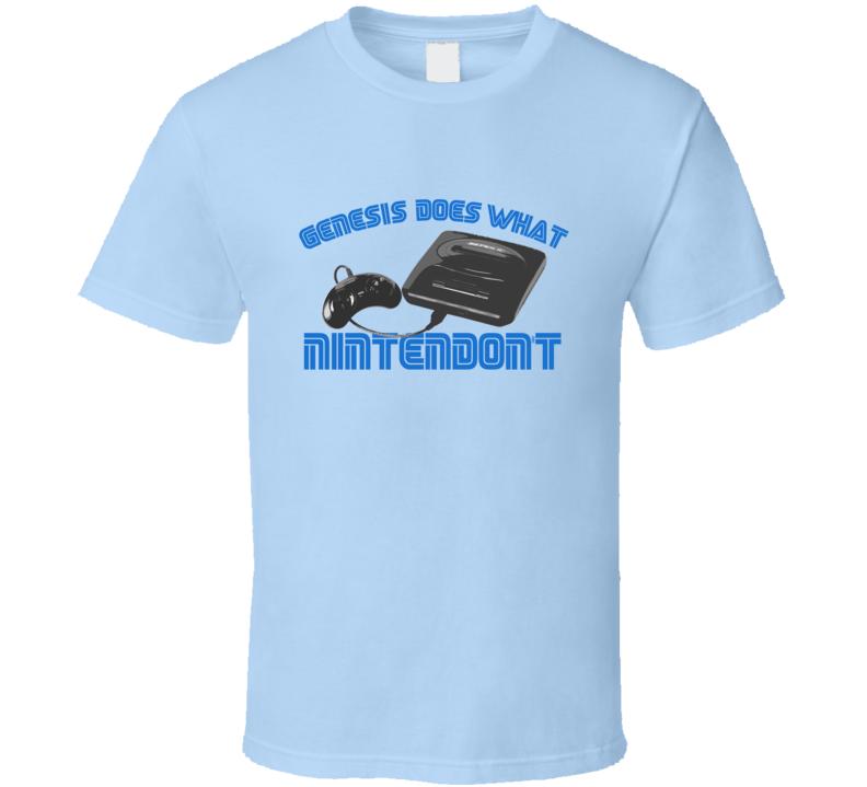 Genesis Does What Nintendon't SEGA T Shirt