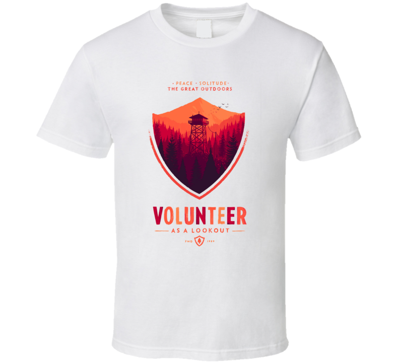 FireWatch Volunteer T Shirt