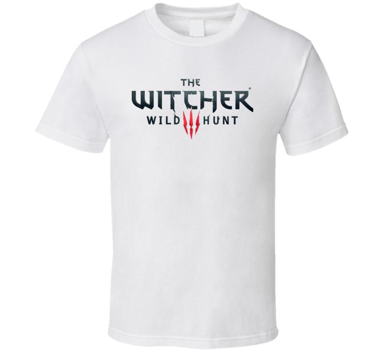 The Witcher 3 Wild Hunt Logo T Shirt