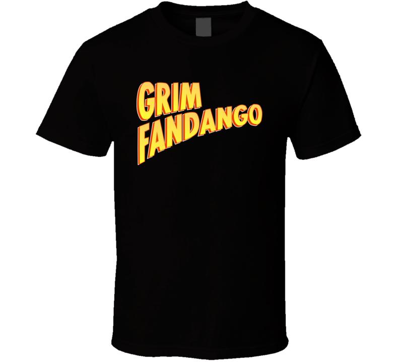 Grim Fandango Logo T Shirt