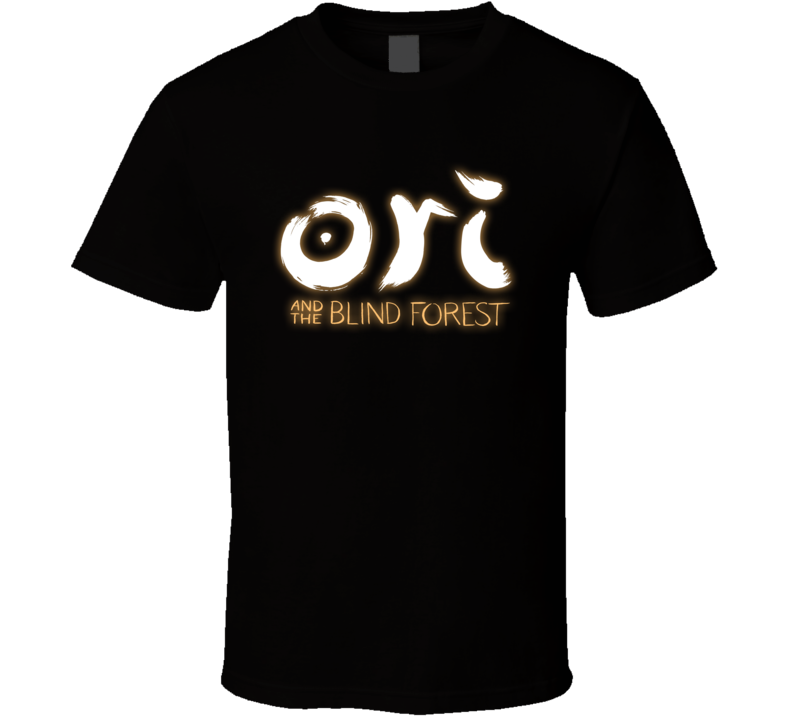 Ori and the Blind Forest Logo T Shirt