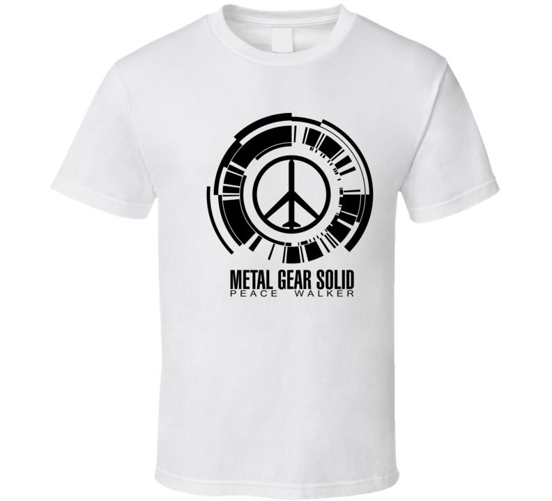 Metal Gear Solid: Peace Walker Dark Logo T Shirt