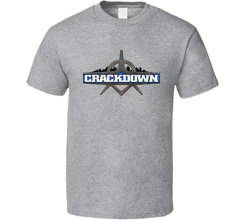 Crackdown Logo T Shirt