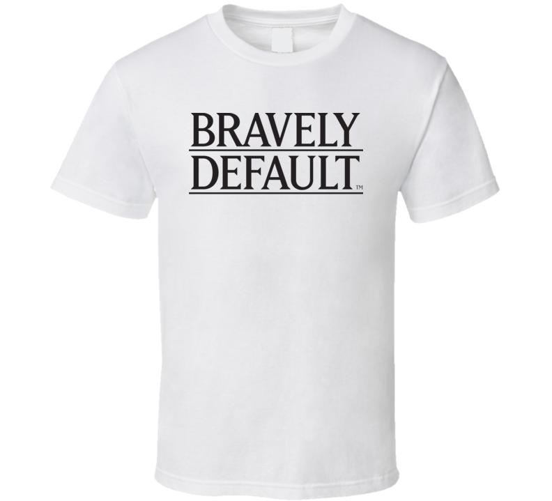 Bravely Default Logo T Shirt