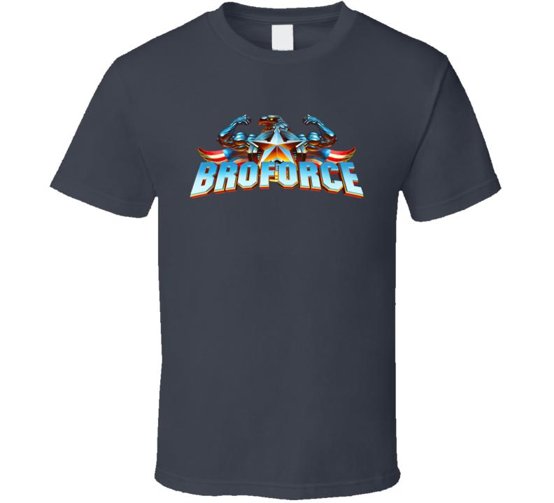 Broforce Logo T Shirt
