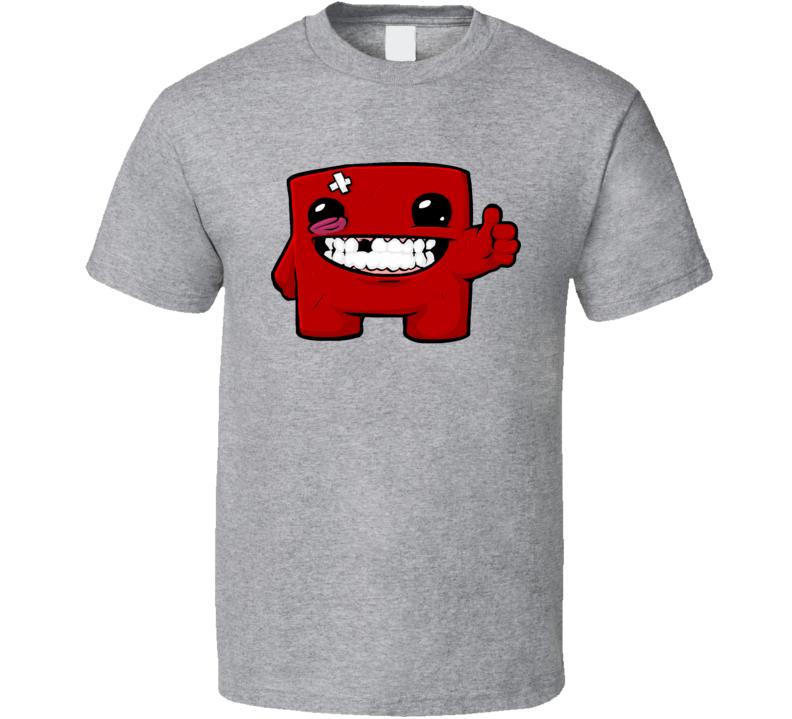 Super Meat Boy Thumbs Up T Shirt