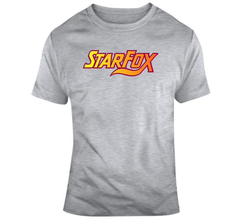 Starfox Logo T Shirt T Shirt