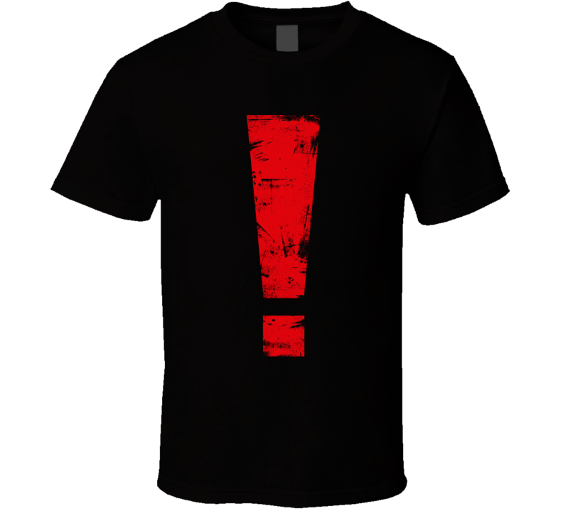 Metal Gear Solid ! Exclamation Mark T Shirt