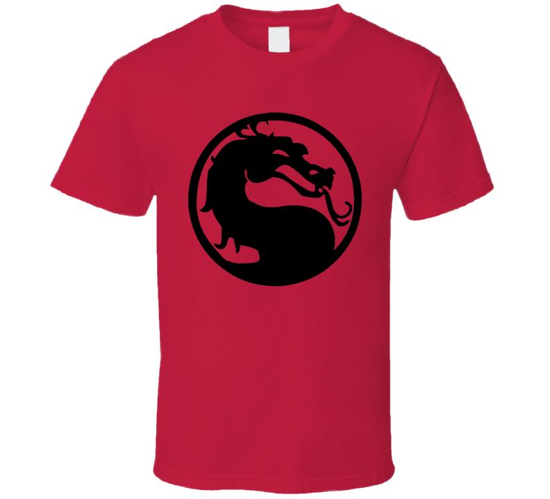 Mortal Kombat Dragon Logo T Shirt