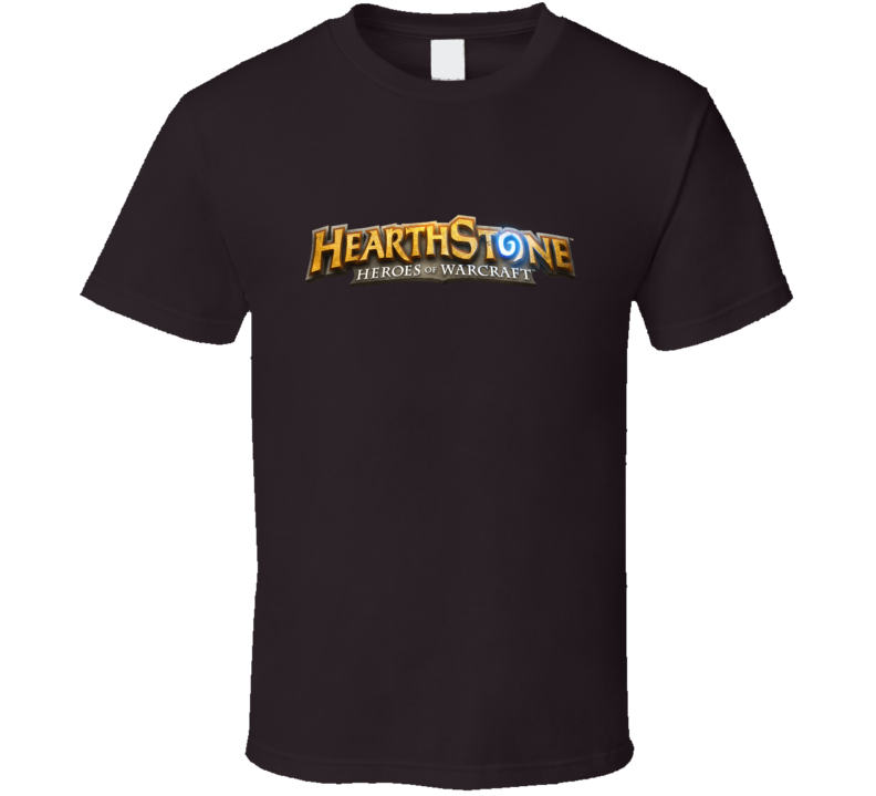 Harthstone Heroes Of Warcraft Logo T Shirt