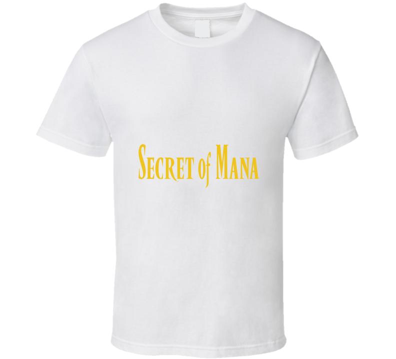 Secret Of Mana Logo T Shirt