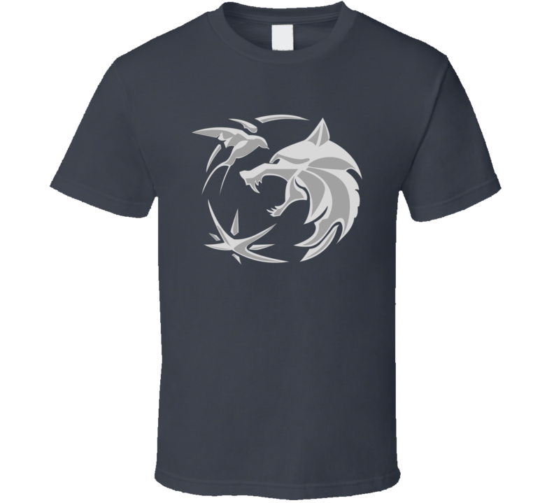The Witcher Series Logo  T Shirt