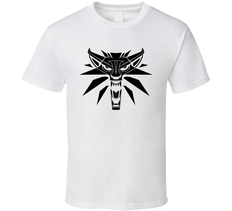 The Witcher Icon Logo T Shirt