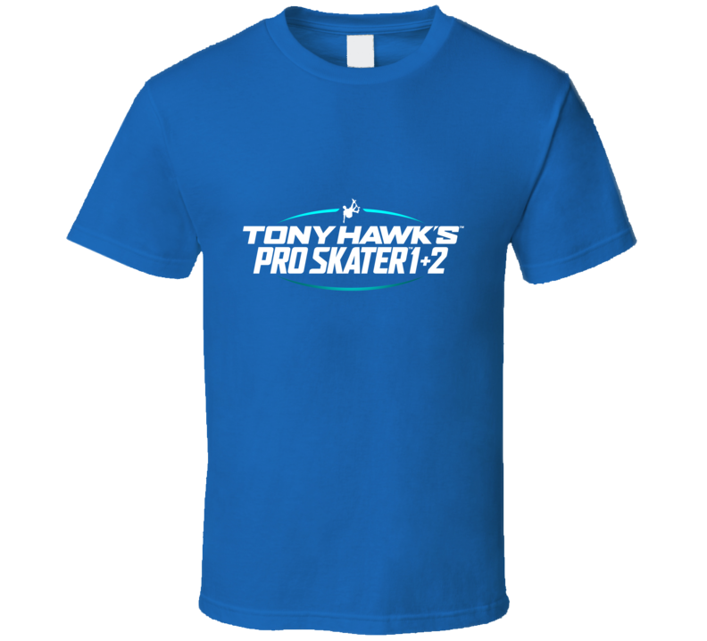 Tony Hawk's Pro Skater 1+2 Logo T Shirt