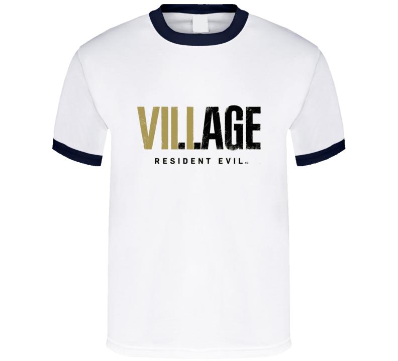 Resident Evil Village Logo T Shirt