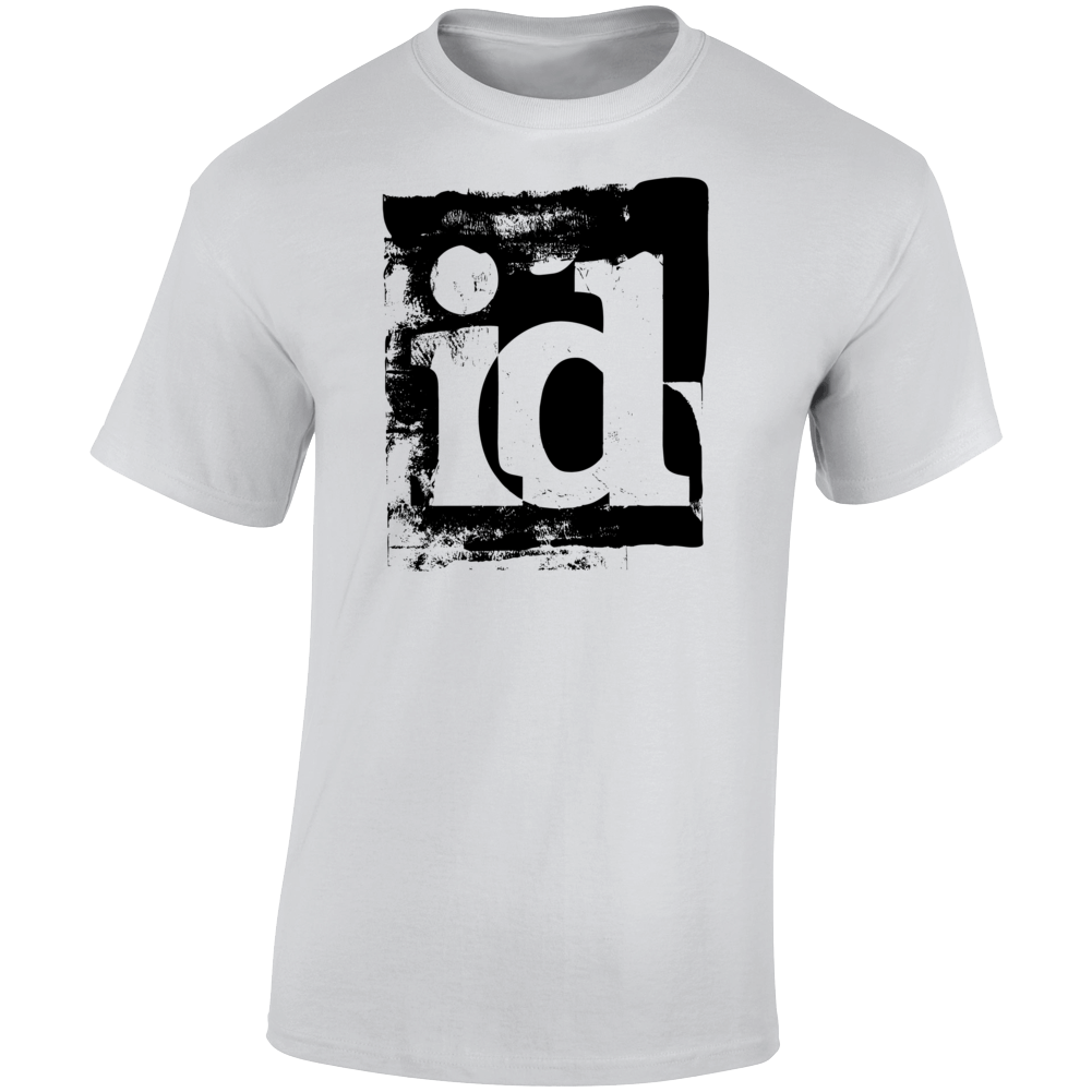 Id Software Black Logo T Shirt