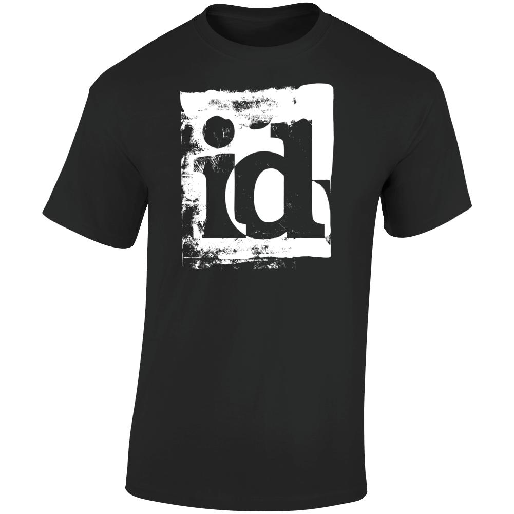 Id Software White Logo T Shirt