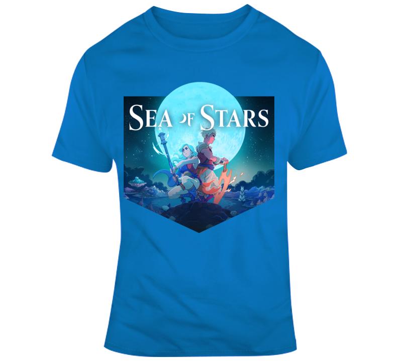 Sea Of Stars Logo Cover Art T Shirt