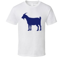 Navy Goat T Shirt