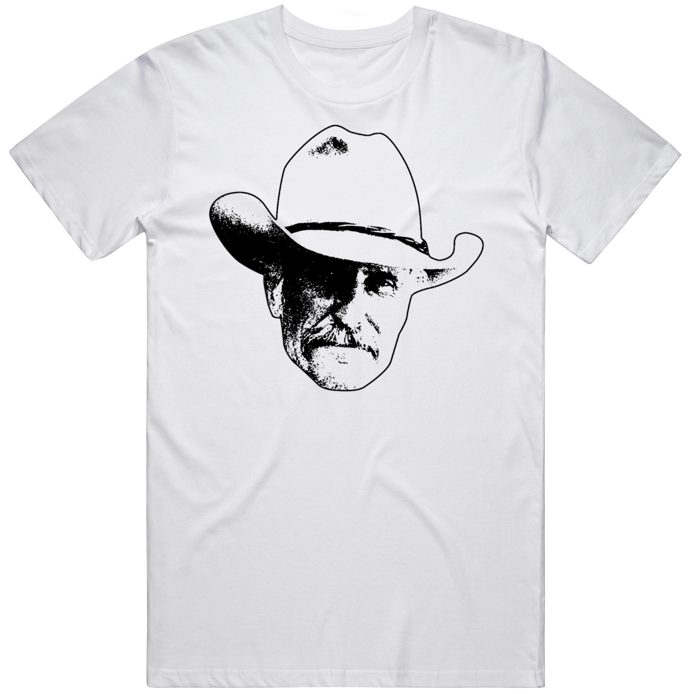 Augustus Gus Mccrae Robert Duvall Lonesome Dove 80s Tv Show Character Fan T Shirt