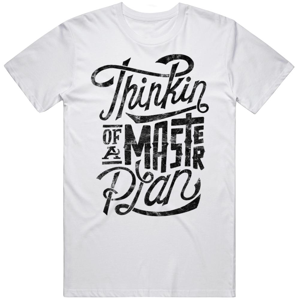Thinkin' Of A Master Plan Eric B Rakim Paid In Full Rap Hip Hop Music Fan Worn Look T Shirt