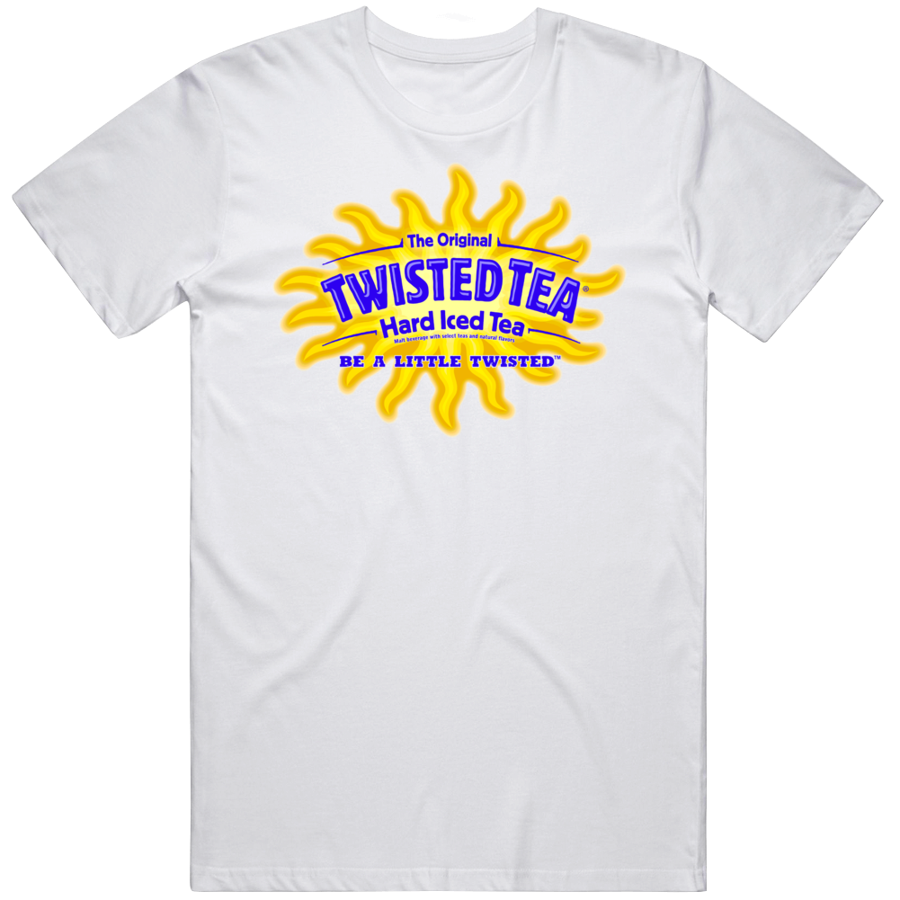 Twisted Tea Logo Hard Iced Tea Junk Food Snack Fan T Shirt