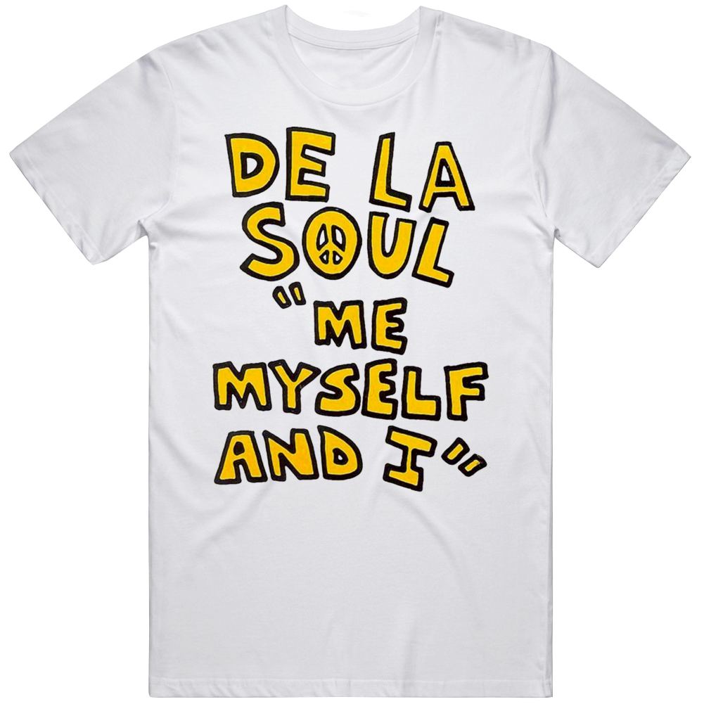 De La Soul Me Myself And I Poster Hip Hop Rap Music Fan T Shirt