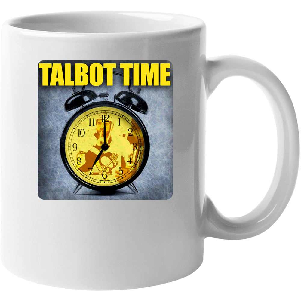 Max Talbot Pittsburgh Hockey Mug