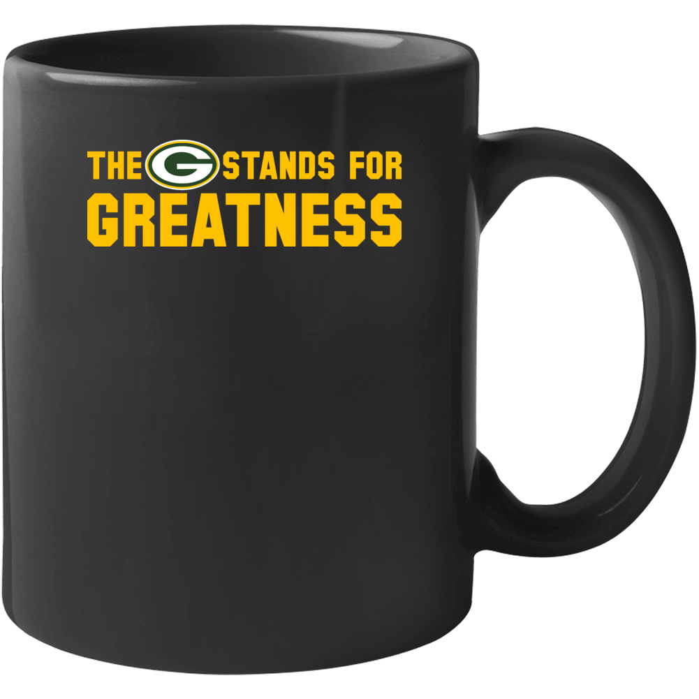 The G Stands For Greatness Green Bay Mug