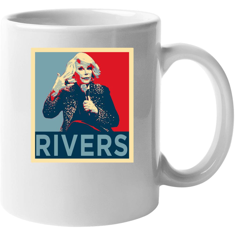 Joan Rivers Stand Up Comedian Funny Comedy Fan Mug