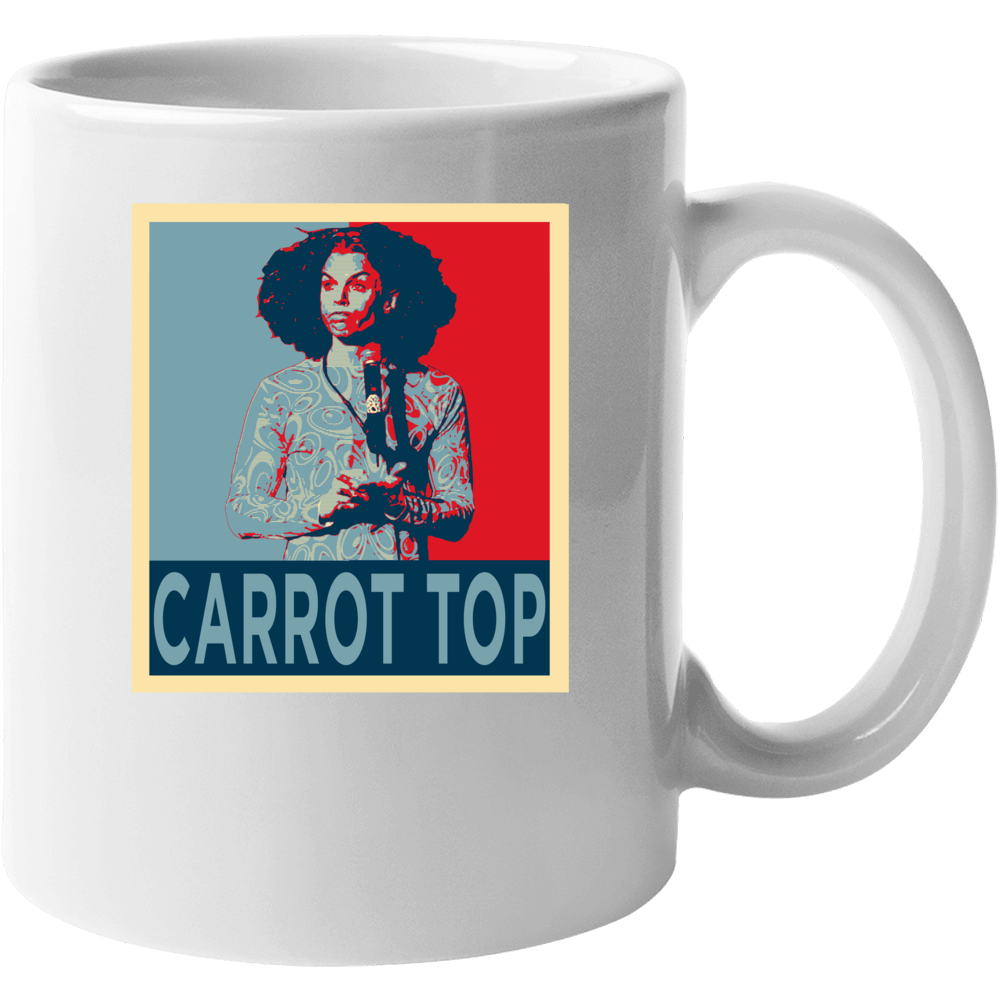 Carrot Top Stand Up Comedian Funny Comedy Fan Mug